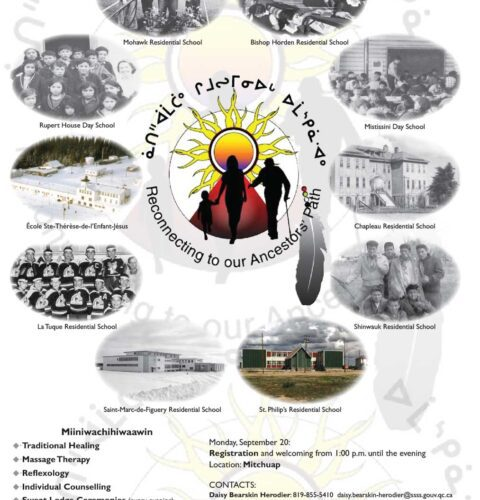 Residential School Gathering 2021, Sept 20 to 24 Fort George Island